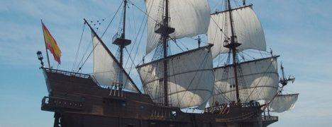 Barcos de grandes dimensiones que pesaban unas 500 toneladas