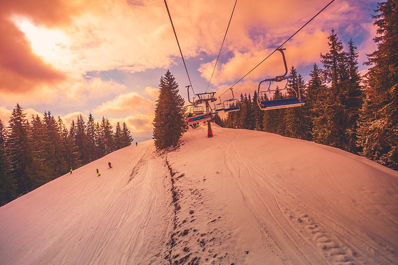 Términos técnicos del esquí